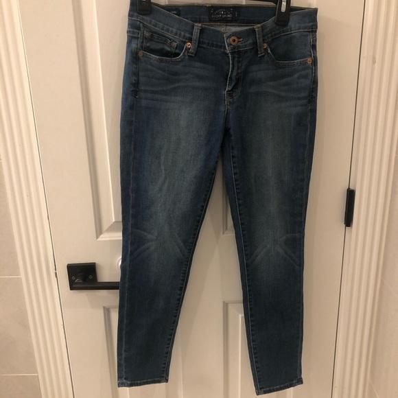 Lucky Brand Denim - Charlie pencil Capri lucky brand jeans